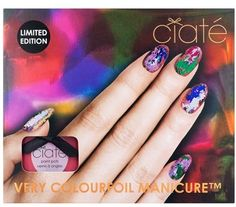 Ciaté 'Very Colourfoil Manicure - Carnival Couture' Set - ShopStyle Nail Products Great Nails, Cool Nail Art, Cute Nails, My Nails, Nail Polish Trends, Nail Polish Colors, Nail Trends, Nail Polishes, Velvet Nails