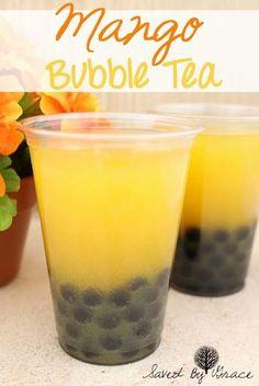mango bubble tea recipe- make your favorite right at home! mango bubble tea recipe- make your favorite right at home!,Food and drink mango bubble tea recipe- make your favorite right at home! Refreshing Drinks, Yummy Drinks, Healthy Drinks, Healthy Food, Nutrition Drinks, Healthy Recipes, Vegetarian Recipes, Smoothies, Smoothie Drinks