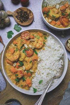 Shrimp Risotto, Food And Drink, Pasta, Healthy, Ethnic Recipes, Saveur, Ootd, Food, Prawn Food