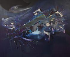 170x150 cm acryl and oil on canvas