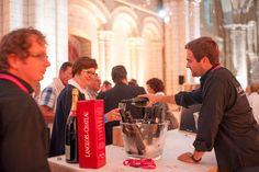 L'Abbaye de Fontevraud a co-organisé en partenariat avec l'ensemble des professionnels du vin du Saumurois une grande soirée évènementielle autour des vins de Saumur.