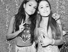 Selena Gomez and Ariana Grande