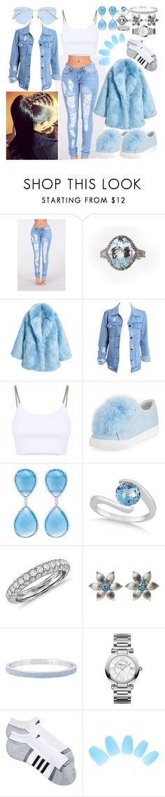 """Faux"" by goodgirldeja ❤ liked on Polyvore featuring Jakke, Alexander Wang, Here/Now, Allurez, Blue Nile, La Perla, Henri Bendel, Chopard, adidas and Sunday Somewhere"