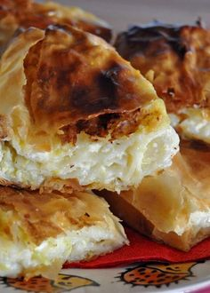 Bucnica - Croatian Squash Cottage Cheese Strudel | Mogwai Soup - i suspect this is one of the many incarnations of the borek.