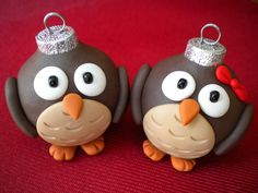 Owl Christmas Ornaments: This would be perfect for Ms. Austin and her owl-themed room. This link is to an Etsy site, but I bet I could figure out how to do it.