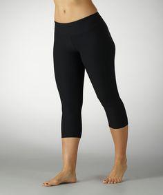 Love this Marika Black Capri Leggings by Marika on #zulily! #zulilyfinds