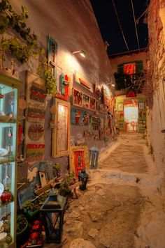 δρομάκι στην Παλιά χωριό, Street art in Old village passage, Alonnisos Island Places Ive Been, Greece, Trips, Art, Greece Country, Viajes, Art Background, Kunst, Traveling