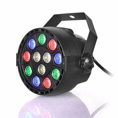 Professional LED Stage Lights 12 RGBW PAR LED DMX Stage Lighting Effect DMX512 Master-Slave Led Flat for DJ Disco Party KTV. Yesterday's price: US $30.54 (24.93 EUR). Today's price: US $15.27 (12.51 EUR). Discount: 50%.