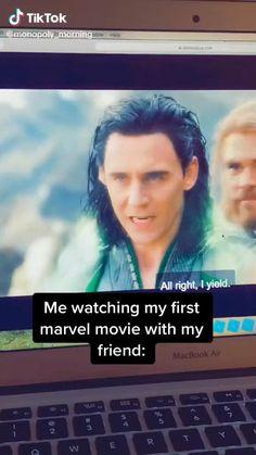 Marvel Avengers Movies, Loki Marvel, Marvel Actors, Disney Marvel, Marvel Fan, Marvel Heroes, Marvel Characters, Funny Marvel Memes, Marvel Jokes