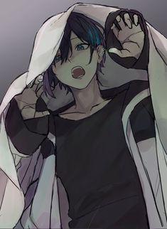 Cute Anime Pics, Cute Anime Boy, Anime Drawing Styles, Art Drawings Sketches Simple, Anime Oc, Arte Horror, Cute Gay, Cute Stickers, Fantasy Art