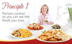 Say 'YES' to portion control with Smart Ones® 6 Smart Eating Principles