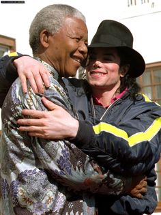 Two of the world's greatest men.