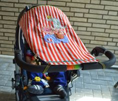 Cute baby sewing projects: Sonnensegel kostenlose Anleitung farbenmix