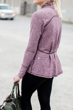 To get to and from your workout this winter without freezing, try a nicely fitted light jacket. Let Daily Dress Me help you find the perfect outfit for whatever the weather! dailydressme.com/