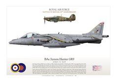 RAF Harrier GR9 ZD403