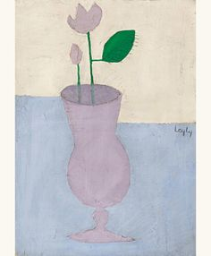Vase with flowers no. 5, before 1965 - Matine-Daftary Leyly (1937–2007)
