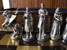 Chess Set Tournament at Camelot The Franklin Mint Set | Toys & Hobbies, Games, Chess | eBay!