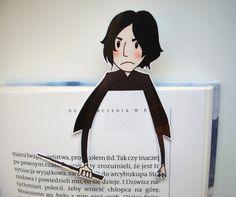 Snape Harry Potter bookmark by BigNerdWolf on Etsy