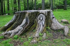 This'd be a great outdoor altar!
