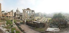 Vista panorámica del Foro imperial de Roma. José Ramón Polo López