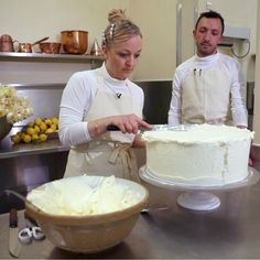 The couple selected a California-raised, London-based baker, Claire Ptak to make their wedding cake.