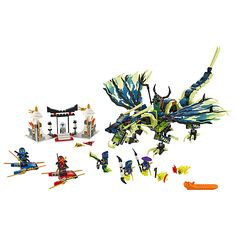 Buy LEGO Ninjago Attack Of Morro Dragon Online at johnlewis.com