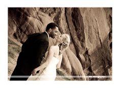 Rock Rocks Amphitheater Wedding in Colorado. Signature Weddings with Julie Kemerling. www.afinephotographer.com 303-768-0381