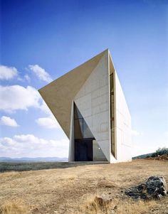Chapel of Valleacerón, Almadén, Ciudad Real, Spain (Architect: Sancho-Madridejos Architecture Office) - http://www.designisthis.com/