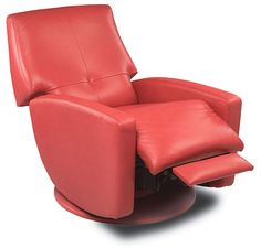 American Leather Recliner | Customize it to fit your style | Available at Concept Home #modernspokane #americanleather