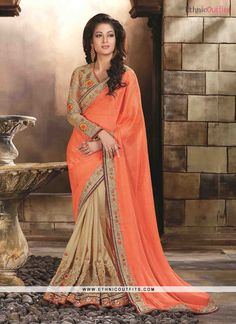 Delectable Faux Chiffon Designer Saree  Email- support@ethnicoutfits.com Call - +918140714515 What's app/Viber- +918141377746
