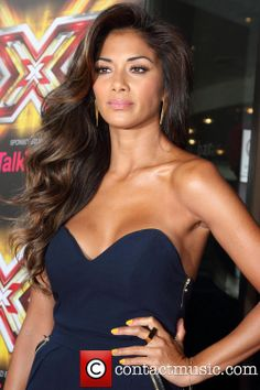 Nicole Scherzinger, Mayfair Hotel London, The X Factor #hollywood #hair