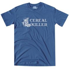Cereal Killer TShirt by vidaiberica on Etsy