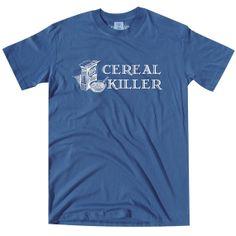 Cereal Killer TShirt by vidaiberica on Etsy