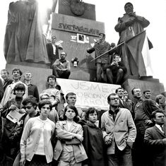 The Day the Soviets Arrived to Crush the Prague Spring, in Rarely Seen Photos Prague Spring, The New Yorker, Ecology, Archaeology, Photo Booth, Mount Rushmore, Crushes, Culture, In This Moment