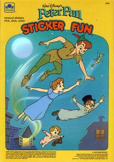 Peter Pan Sticker Fun Book