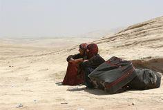 Exodus: Thousands of Syrian refugees escape into northern Iraq via NBC News - PhotoBlog