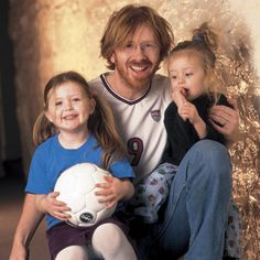 Trey Anastasio from Phish with his daughters