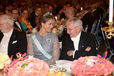 The Nobel Prize Banquet 2015 at Concert Hall in Stockholm