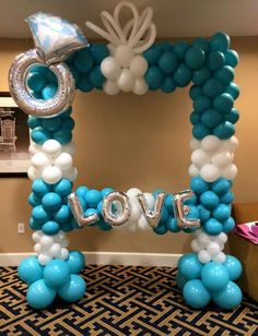 balloon photobooth frame