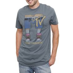 MTV Tee Gray