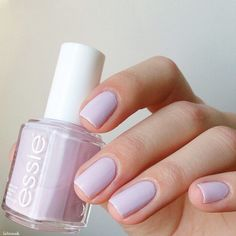 Essie Go Ginza (pale lilac) - #nails #nail