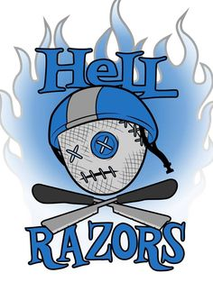 Northland Nightmares Junior Roller Derby's new team Hell Razors! Sami Callihan, Roller Derby, Kiwi, Logos, Logo
