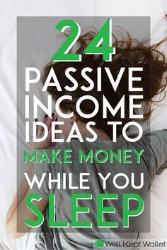 Passive Income - How does making money while you sleep sound? Well here are 24 passive income options for you that allow to do just that! Legendary Entrepreneurs Show You How to Start, Launch & Grow a Digital Hours of Training from Industry Titans Make Money Fast, Make Money From Home, Money Tips, Money Saving Tips, Money Hacks, Money Budget, Blog Tips, Earn Money Online, Online Income