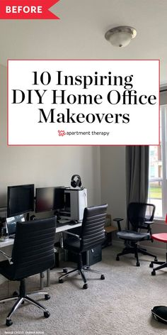 10 of Our Favorite Home Office Redos to Inspire Your Work-from-Home Setup Chic Office Decor, Home Office Setup, Home Office Space, Office Ideas, Desk Space, Interior Design Atlanta, Interior Design Software, Office Interior Design, Diy Home Decor Projects