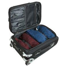 NHL Columbus Blue Jackets Mojo 21 Carry-On Luggage - Black