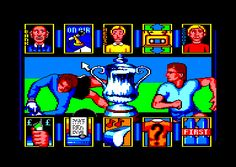 World Soccer - Due to the severe lack of footy manager games on my Atari 800 XL/XE I had to play this. It was good fun but no Football Manager.