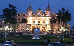 The casino in Monte Carlo at night. 2012.