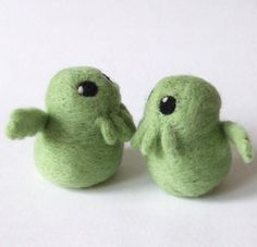Feltmeup Designs: Nothing Says I love You Like a Felt Cthulhu