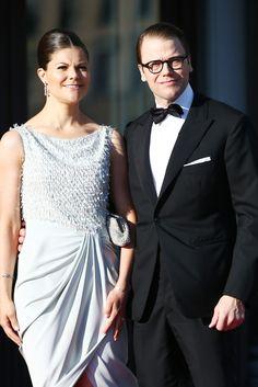 Princess Victoria - King Carl Gustav Hosts a Private Dinner in Stockholm