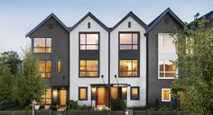 Langley Townhomes, Surrey Townhomes | CLAYTON MARKET by MOSAIC Avenue Realty Ltd